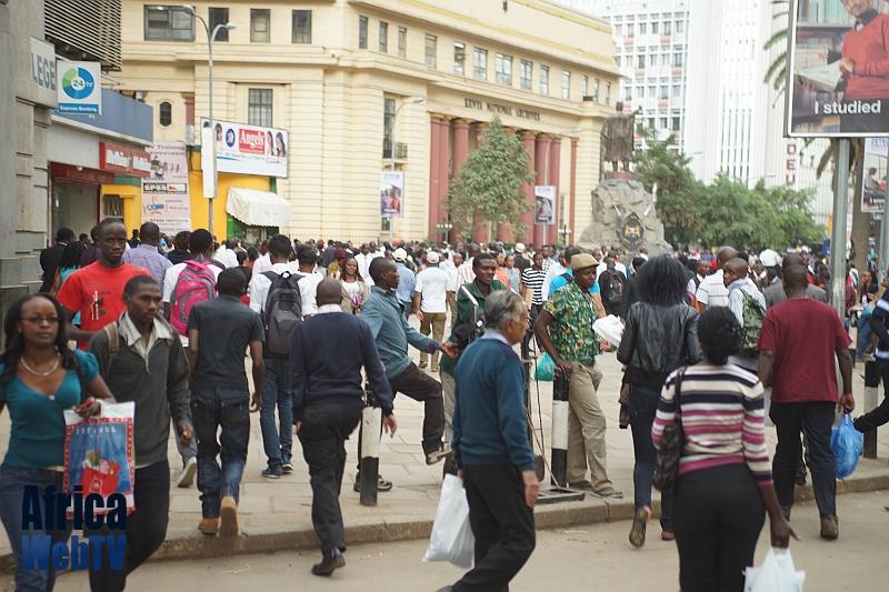 Busy Nairobi