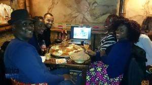 Africa Web TV crew