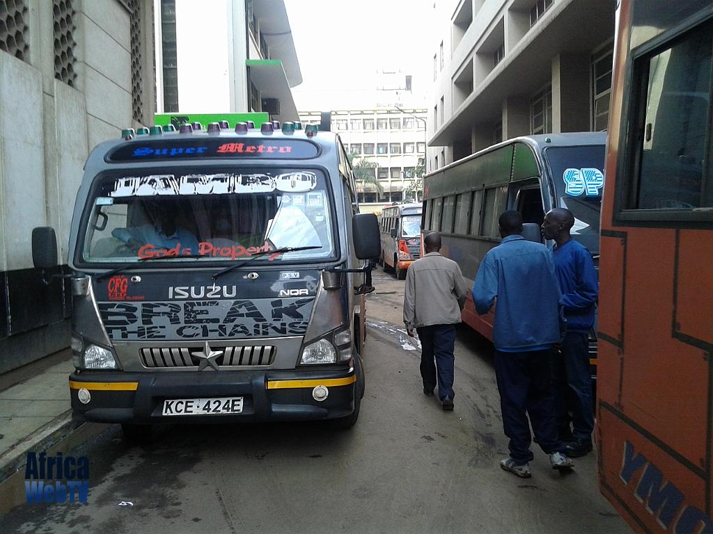 Hiding a tear in Nairobi