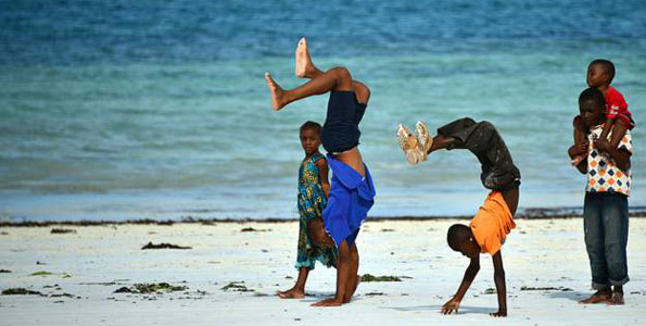 Tanzania has the fittest kids in the world!