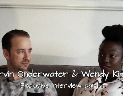 Marvin Onderwater & Wendy Kimani – The hunk & the singer!