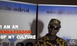 Jose Chameleone at Africa Web TV Amsterdam