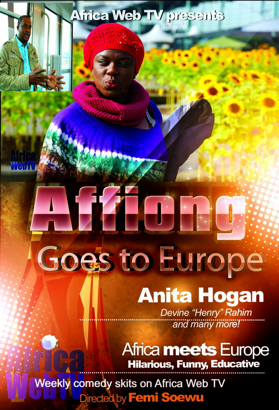 Affiong goes to Europe