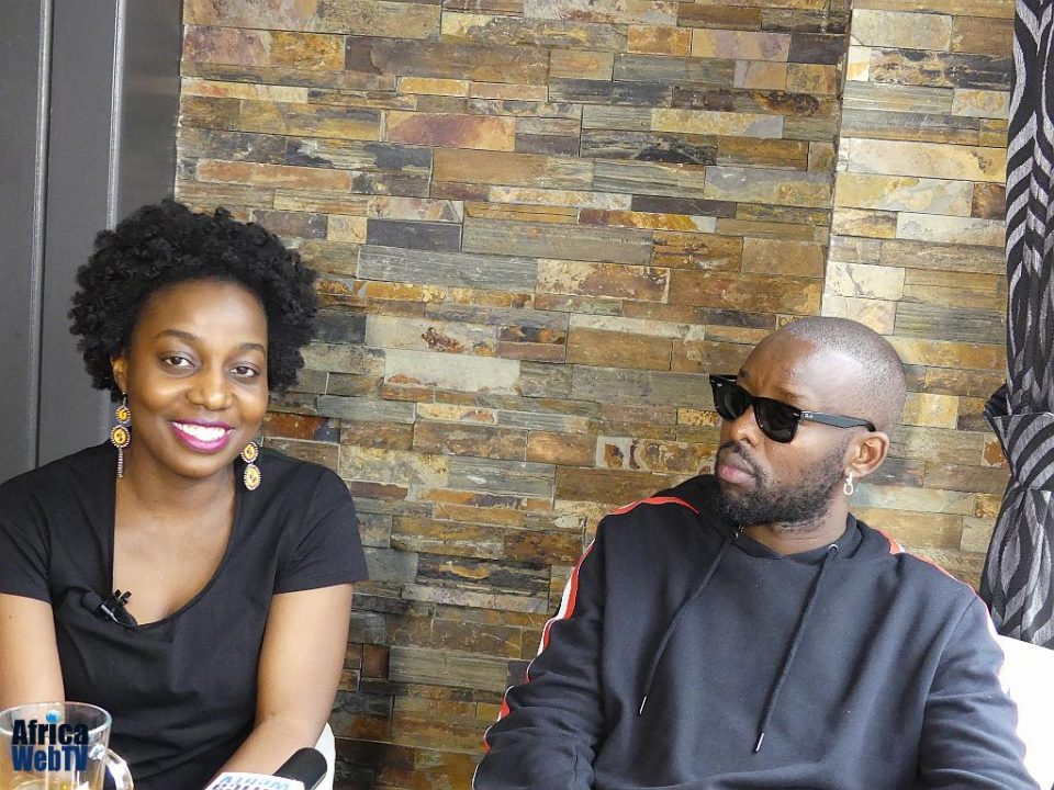 Eddy Kenzo and Faith Mutepa