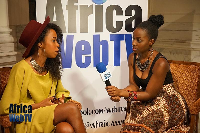 Paith Mutepa at Africa Fashion Week Amsterdam 2015