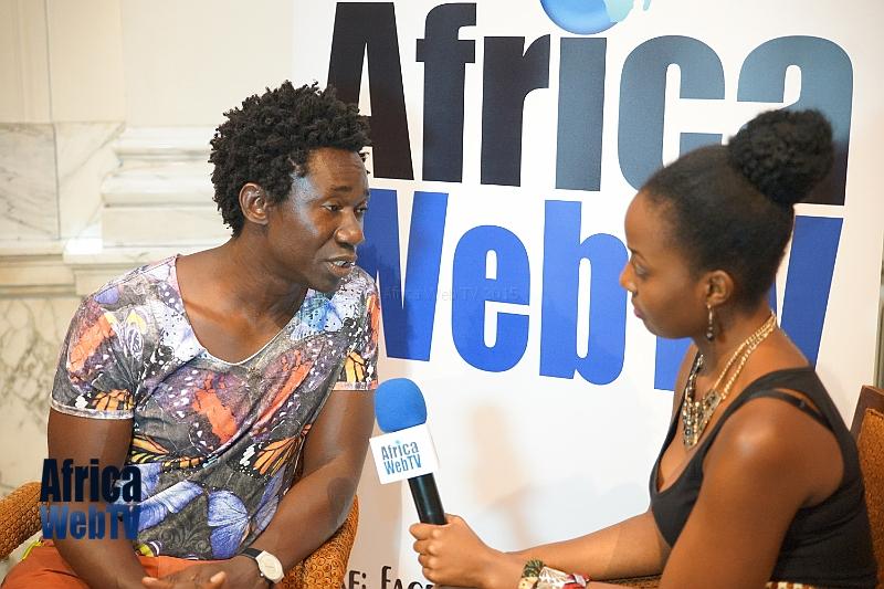 Paith Mutepa & Babah Tarawally at Africa Fashion Week Amsterdam 2015