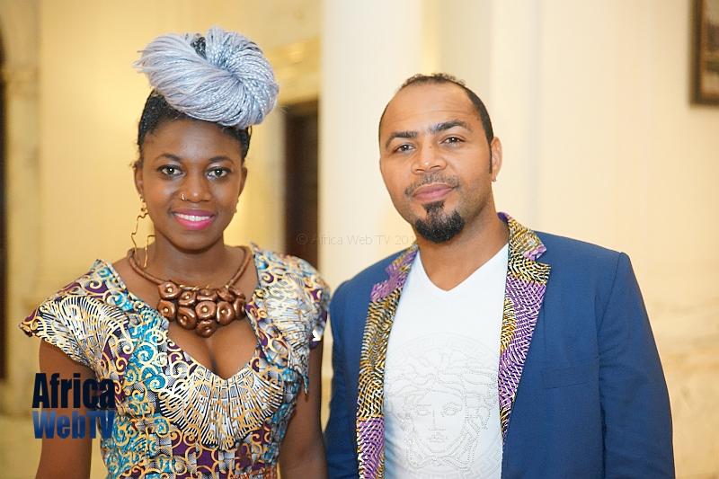 Ramsey Nouah & Diana Tambe Africa Fashion Week Amsterdam 2015