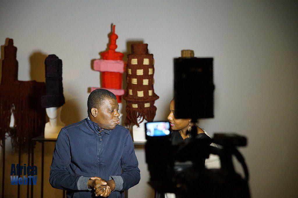 Meschac Gaba & Phay Mutepa, 010Afrika 2016 exhibition