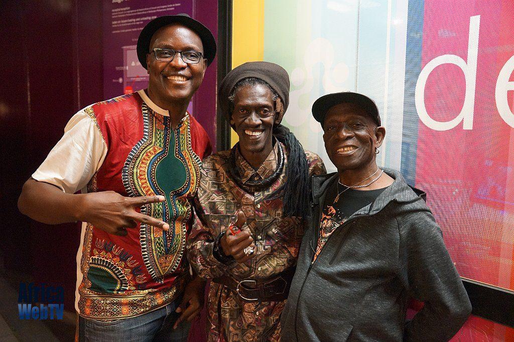 Cheikh Lo, Tony Allen & Femi Soewu