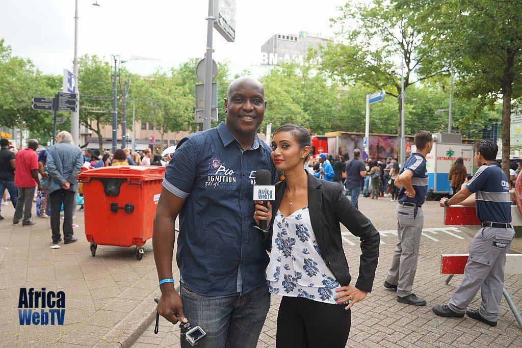 Husnah Snel & Femi Soewu Rotterdam Summer Carnival 2016