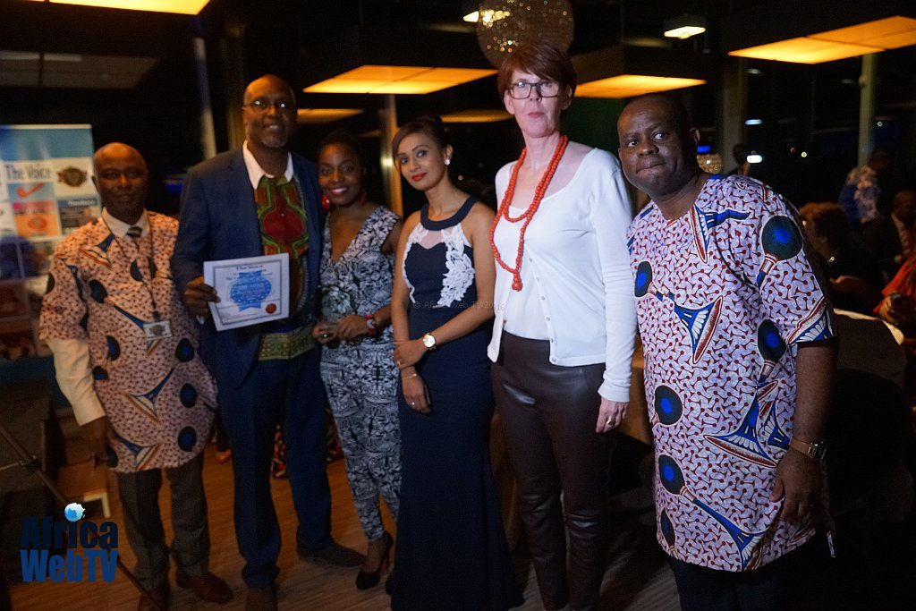 Phay Mutepa, Husnah Snel & Elvis Iruh, The Voice Achievers Award 2016