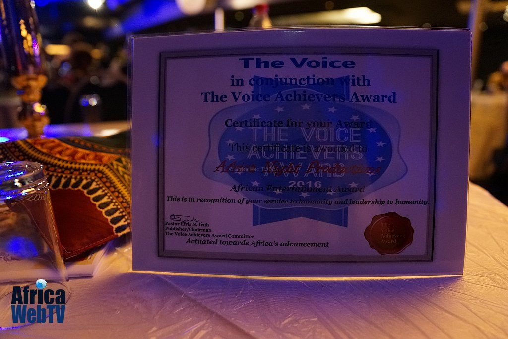 The Voice Achievers Award 2016