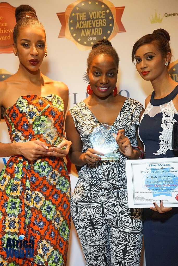 Phay Mutepa, Tania Christina & Husnah Snel, The Voice Achievers Award 2016
