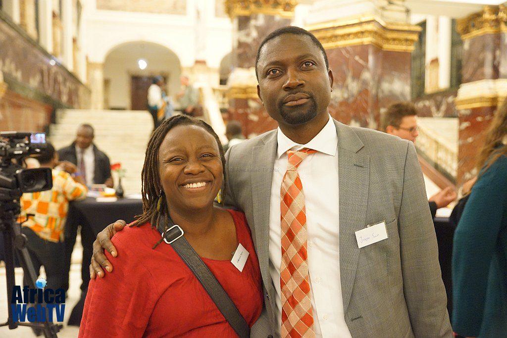 Elizabeth Njeri & Joseph Seh Afrikadag 2016