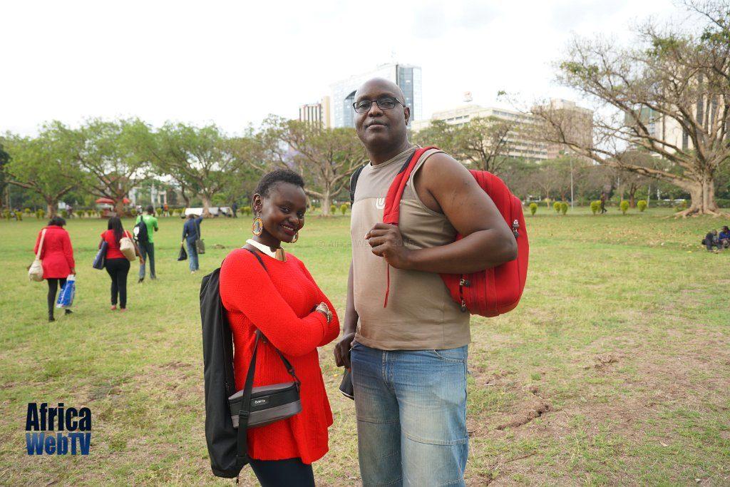Christine Nyotta & Femi Soewu, Nairobi 2015