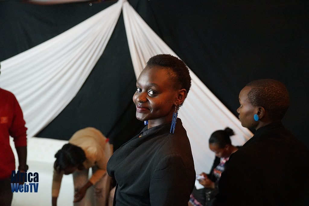 Christine Nyotta at Churchill show Nairobi