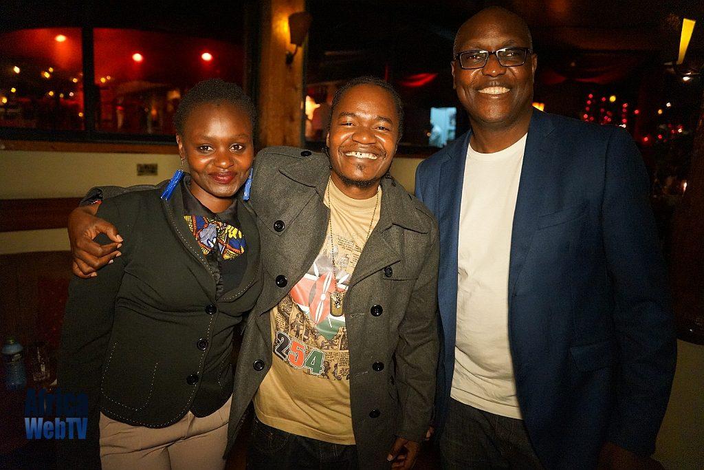 Jua Cali & Christine Nyotta at Churchill show Nairobi
