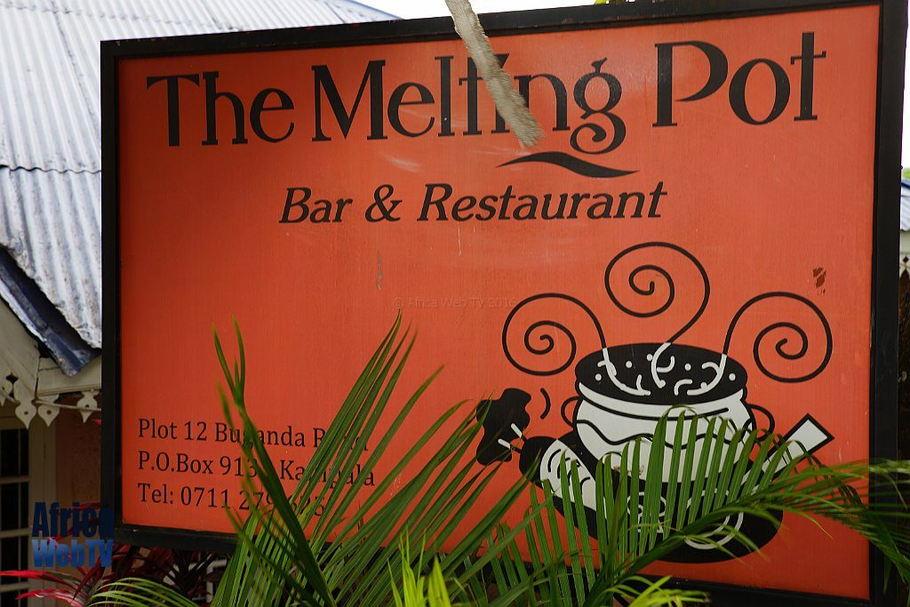 The Melting pot restaurant, Kampala 2016