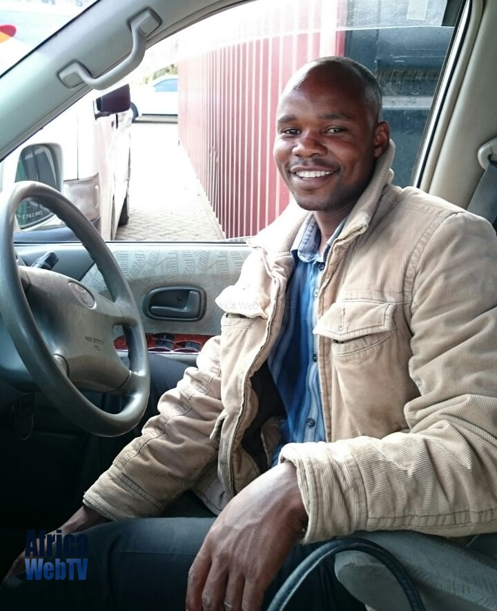 Amos the driver Arusha