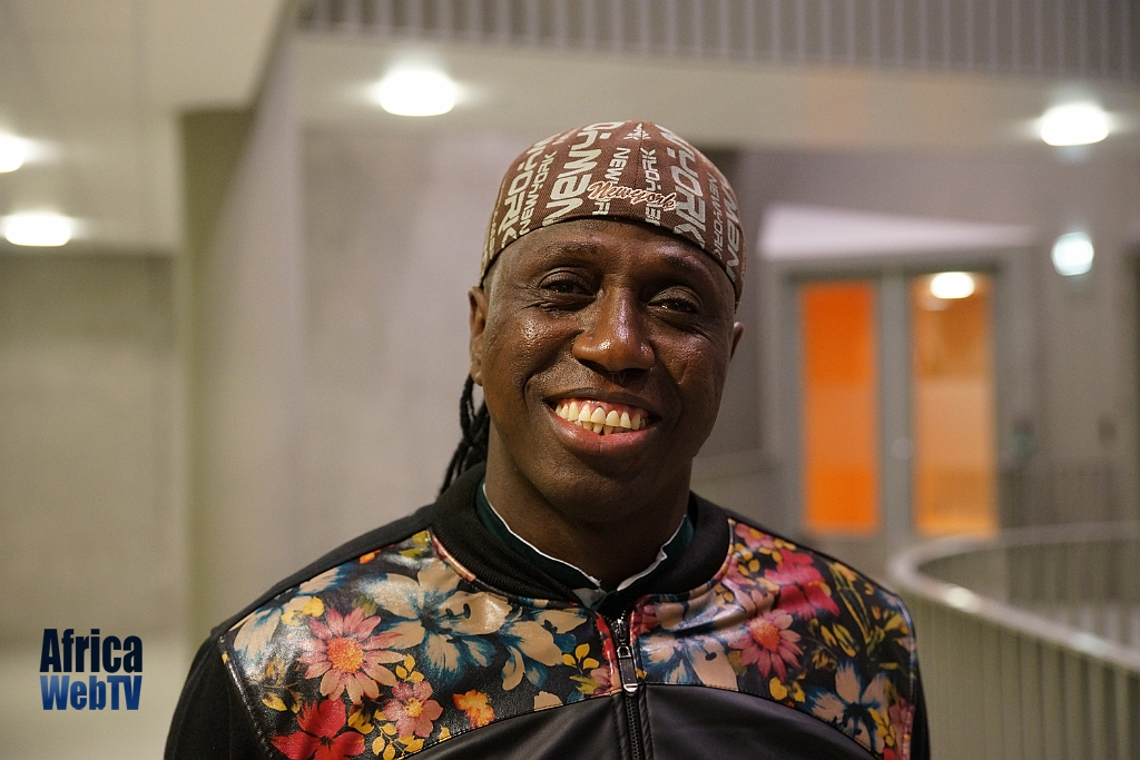 Omar Smiling Gambian