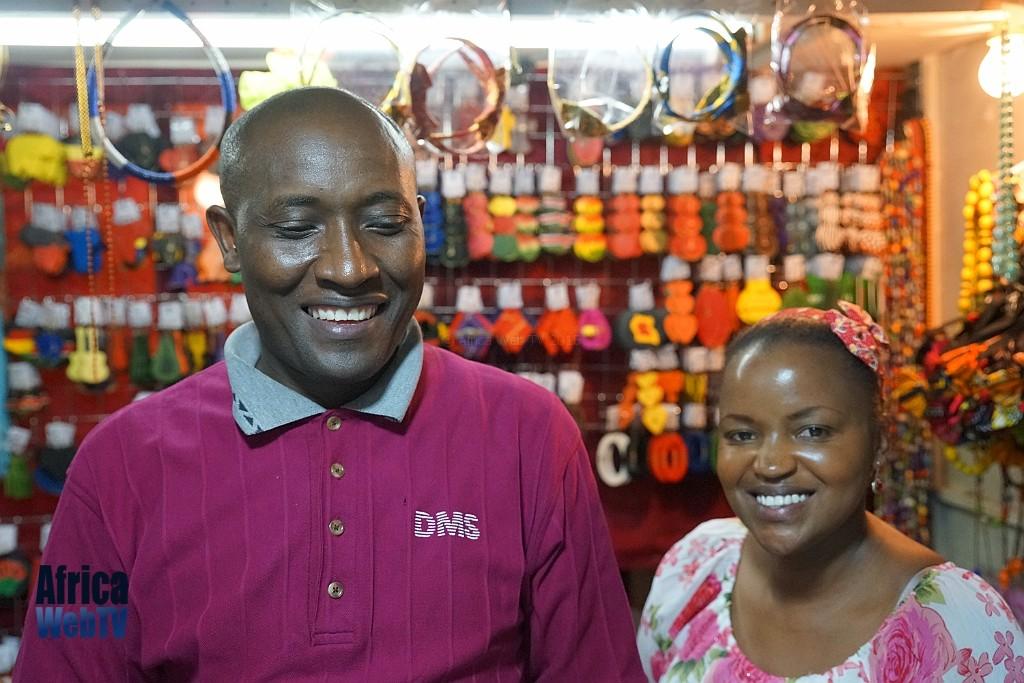 Kenyan sales couple