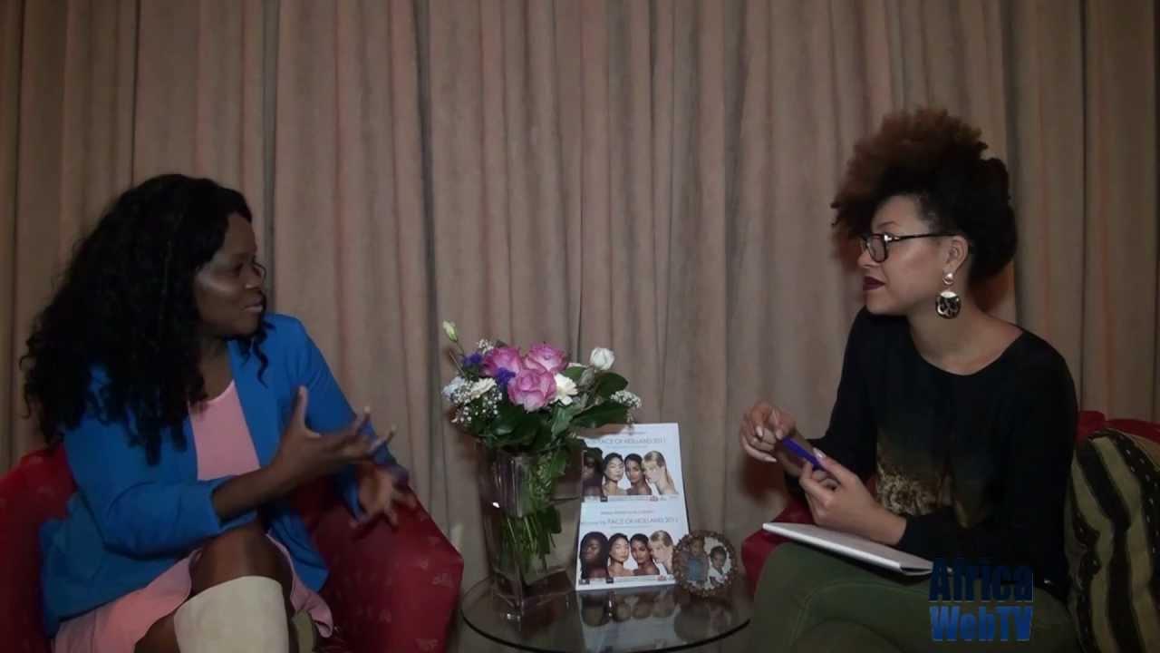 Africa Web TV meets Charlotte Bedet