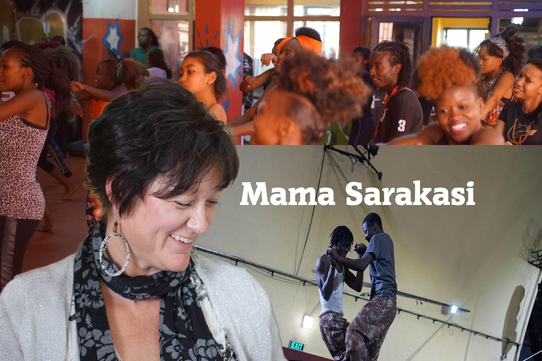 Africa Web TV meets Marion van Dijck (Mama Sarakasi)