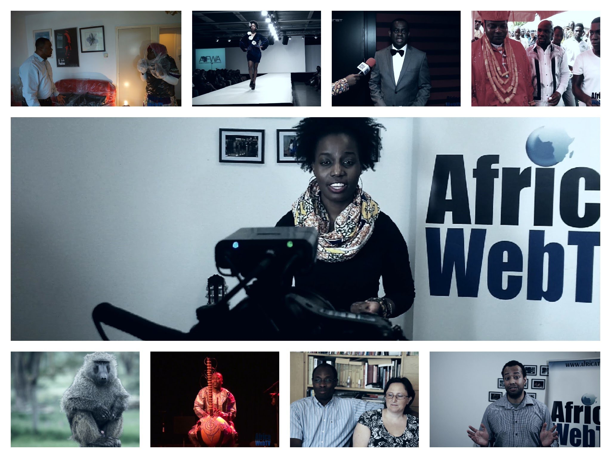The Highlights of Africa Web TV 2014