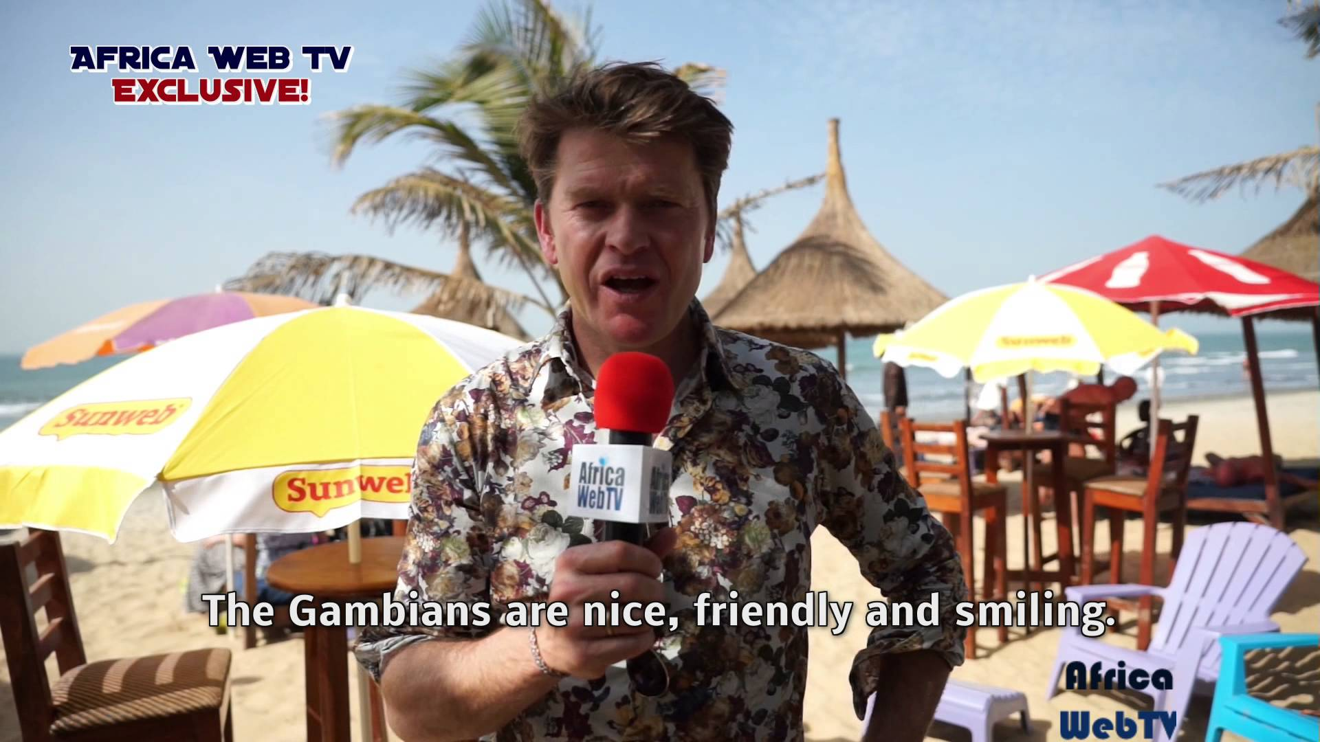 Africa Web TV meets Beau in Gambia