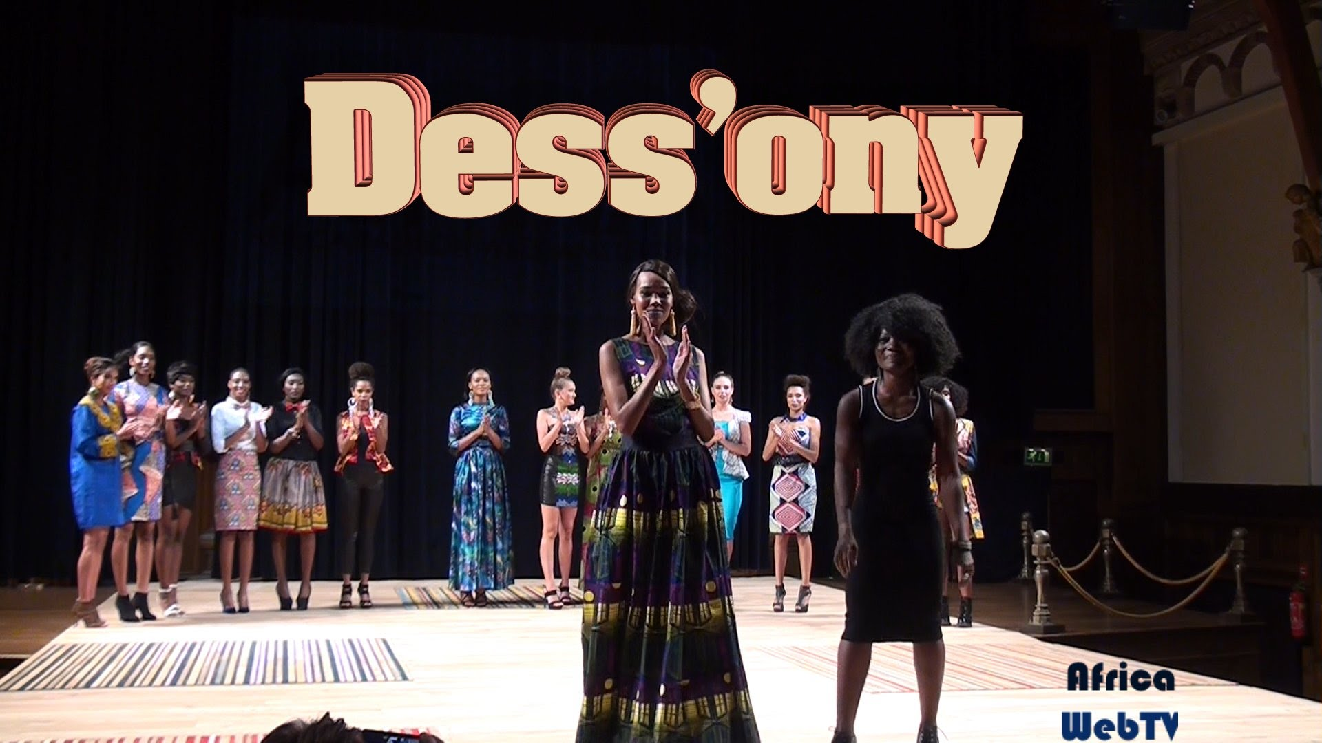 Dess'ony – Africa Fashion Week Amsterdam 2015
