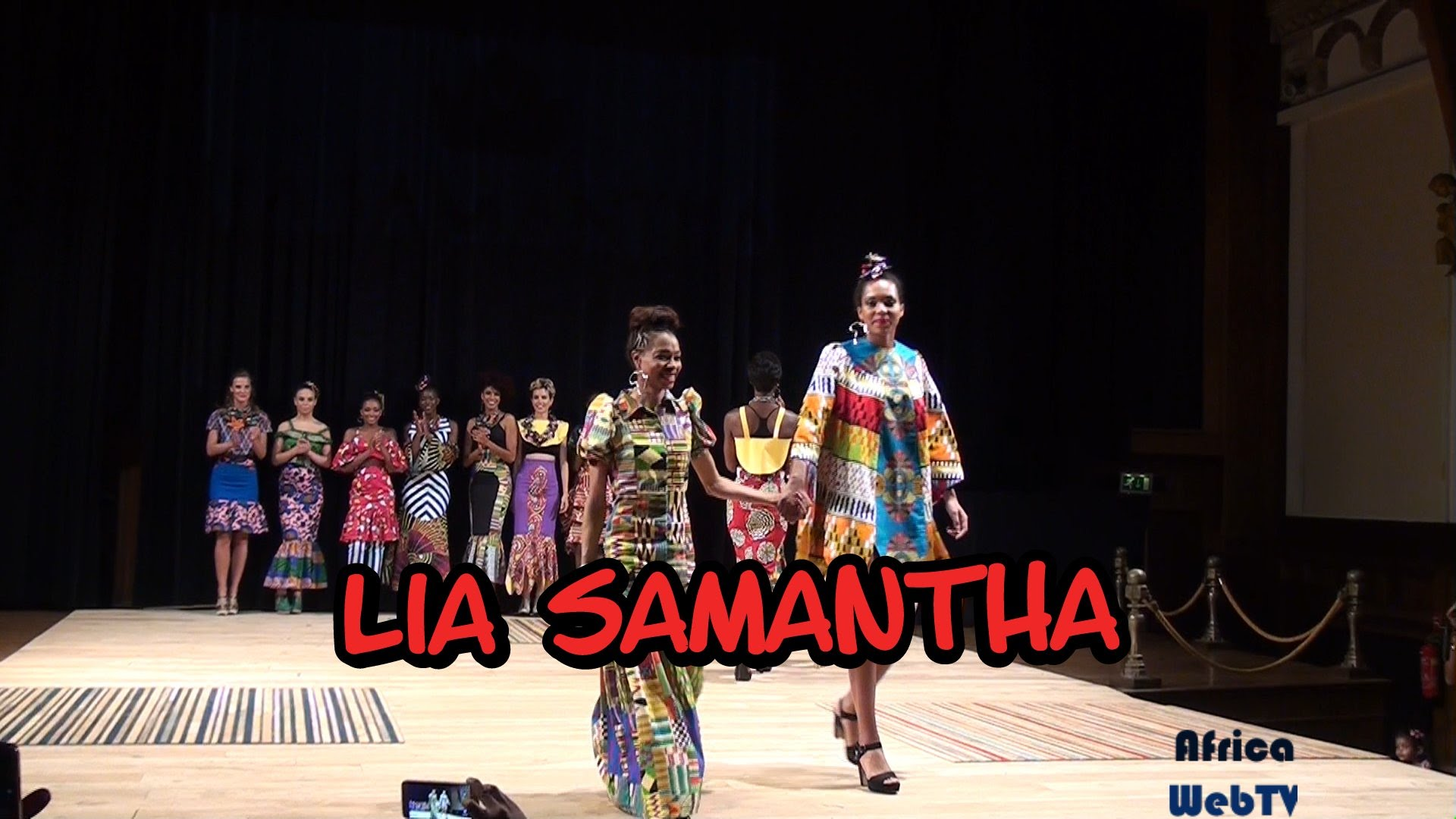 Lia Samantha – Africa Fashion Week Amsterdam 2015