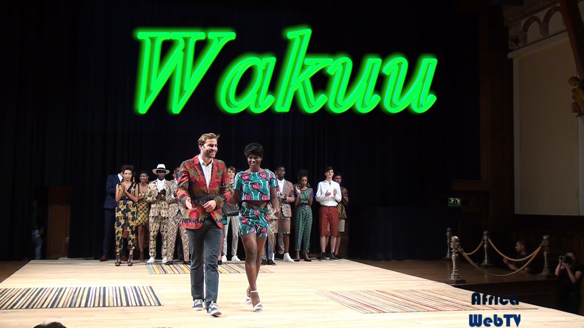 Wakuu – Africa Fashion Week Amsterdam 2015