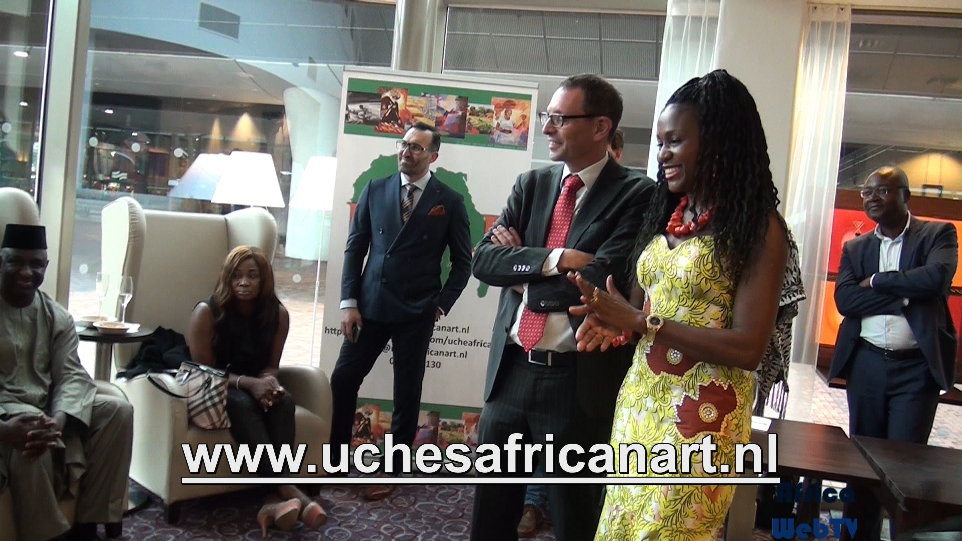 Uche African Art Foundation (Official launching)
