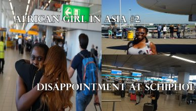 African Girl in Asia – Schiphol airport Shock #2