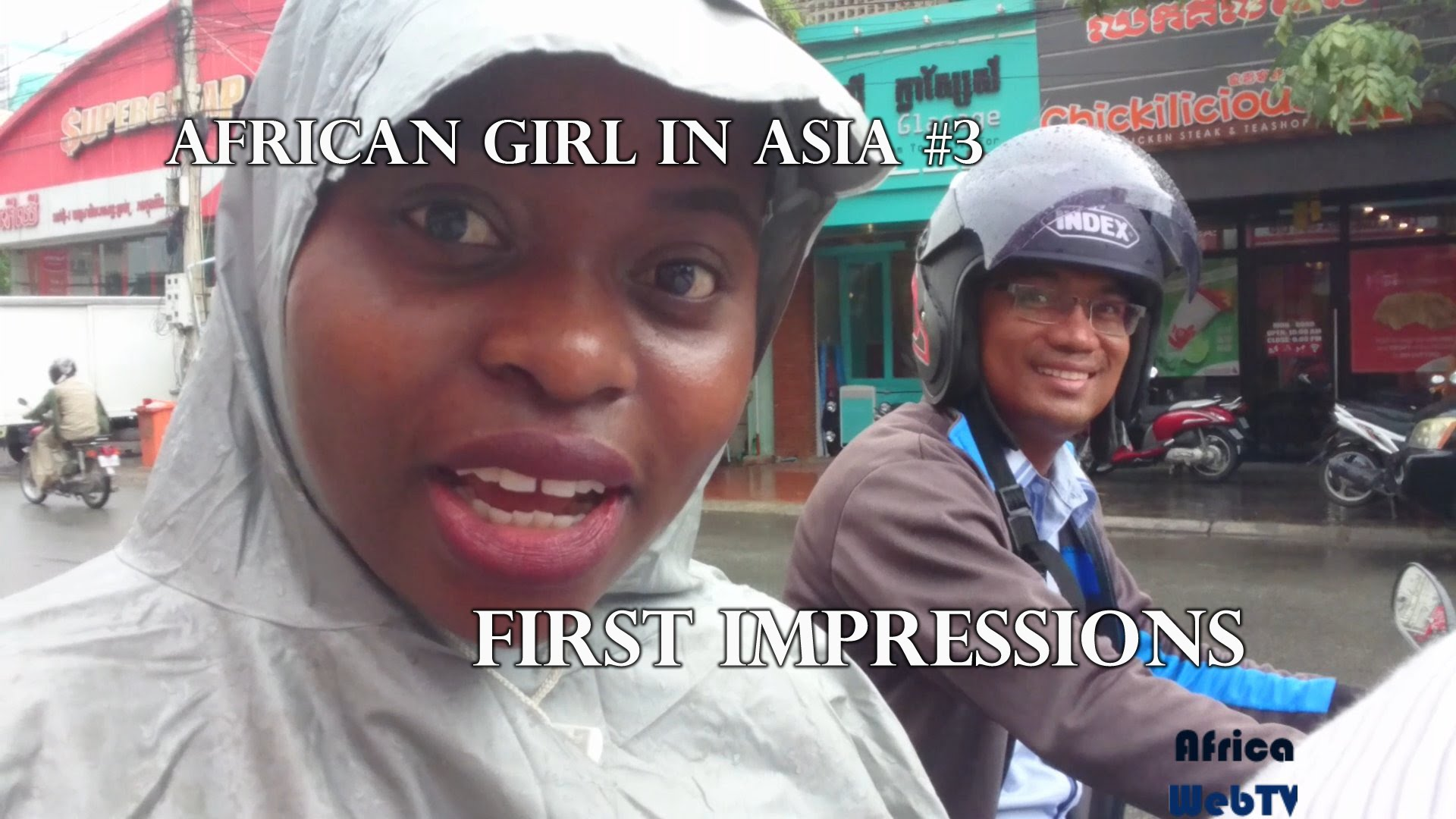 An African girl in Asia – First Impressions #3