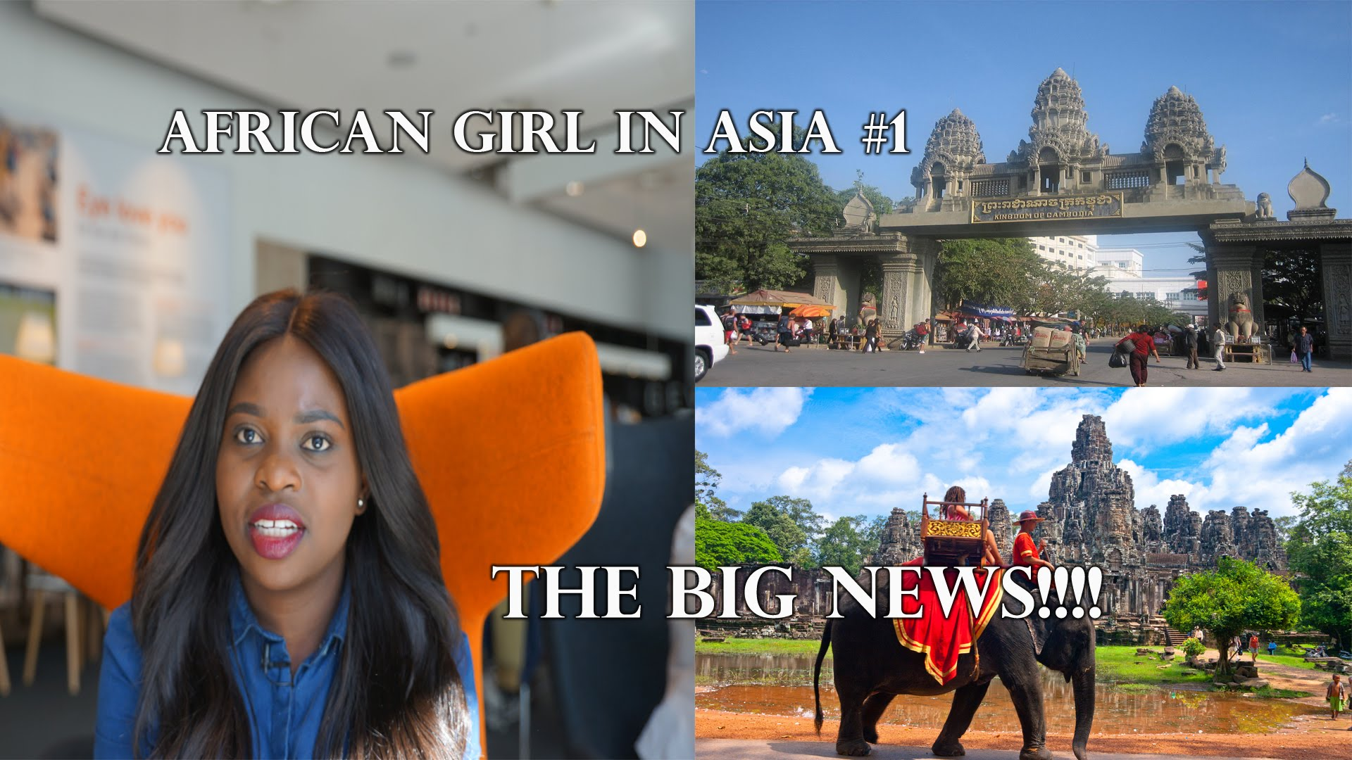 An African girl in Asia: The big news! #1