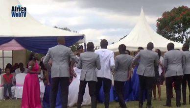 An African Wedding dance