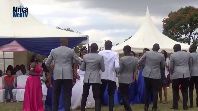 An African Wedding dance
