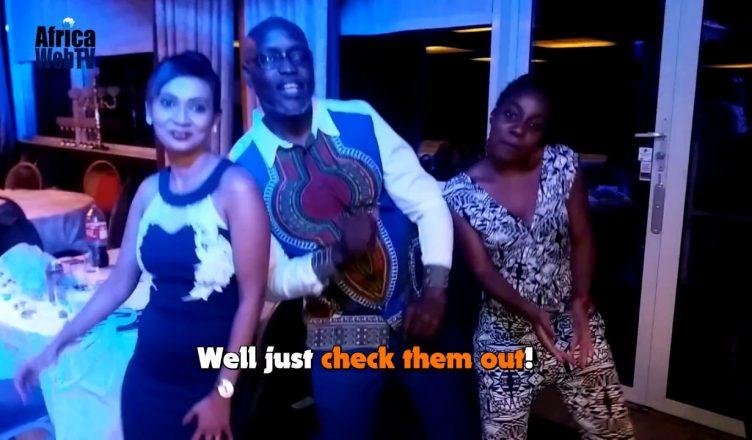 The winning dance – Africa Entertainment Award!