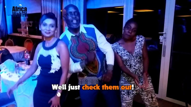The winning dance – Africa Entertainment Award!