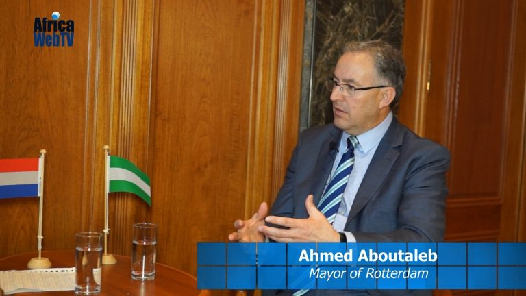 African Role Models – Ahmed Aboutaleb Mayor of Rotterdam