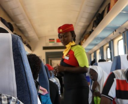 Travelling on the Madaraka Express (Nairobi – Mombasa & back)