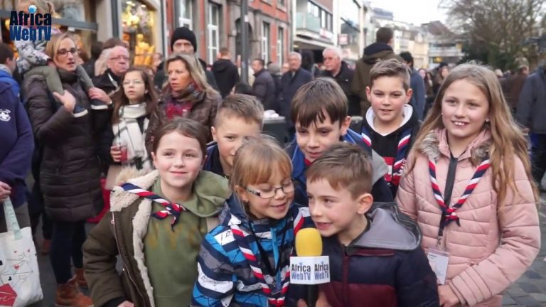 Does it snow in Africa? Kids talk at Christmas Market Aachen