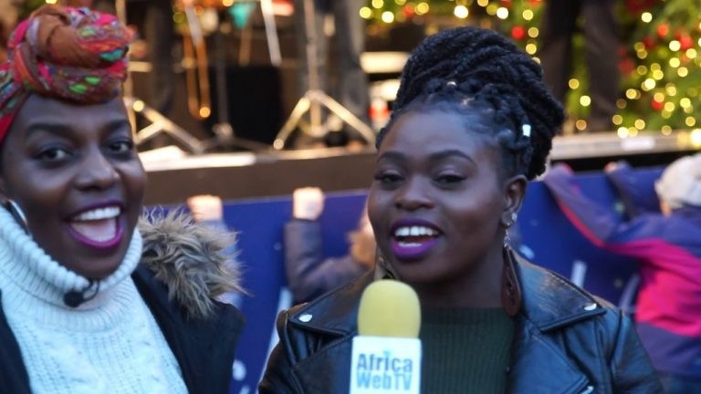 Holiday greetings from Germany and Africa Web TV!