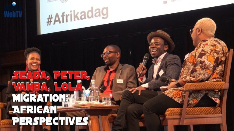 Migration, African Perspective – Full keynote panel discussion (Afrikadag 2019)