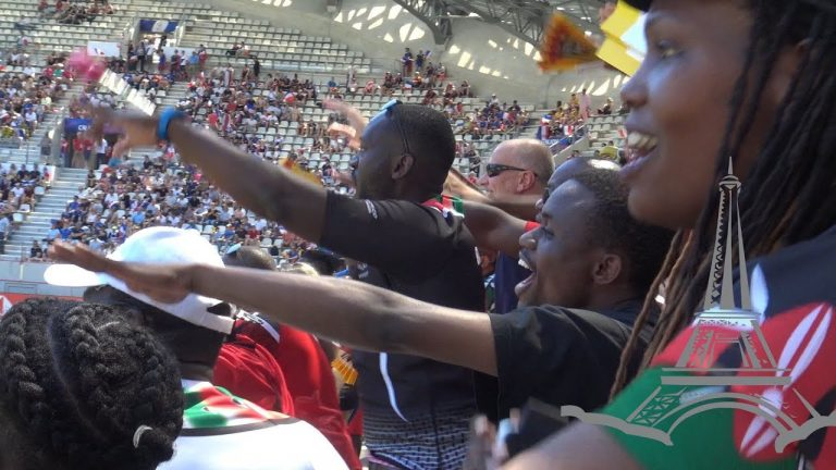 Following the Kenyans supporters at Paris Rugby Sevens 2019 – Afropean Safari