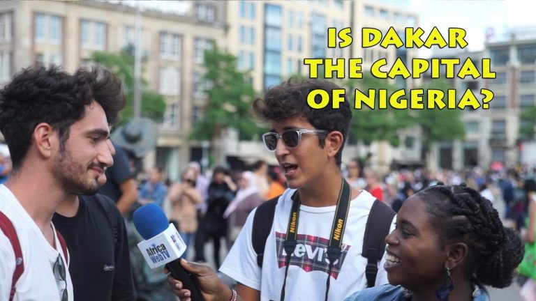 How much do Europeans know about Africa? Taking Africa To the Streets of Amsterdam.