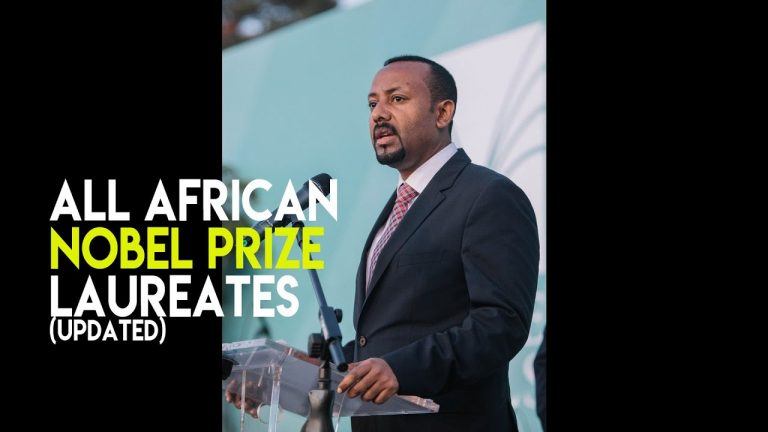 Updated – All African Nobel Prize winners so far