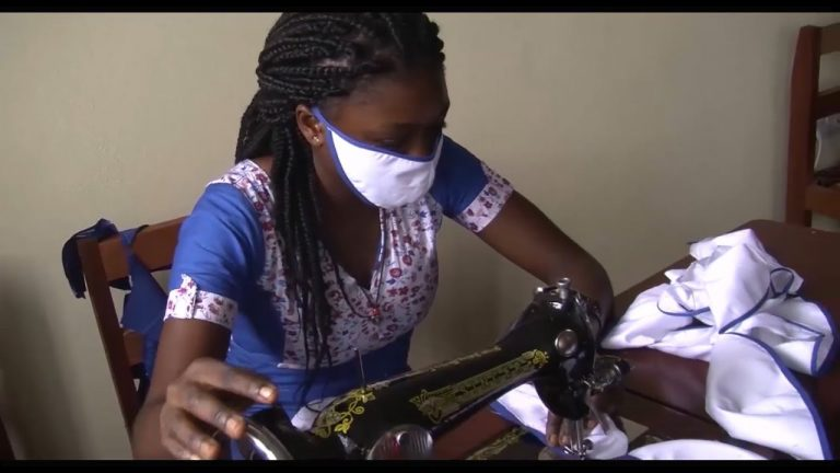 Home-made Masks For Cameroonians