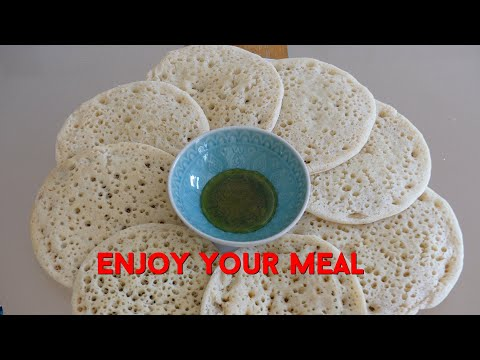 How To Make Baghrir | Moroccan Recipe | Africa Web TV 1 minute Culinary Tips